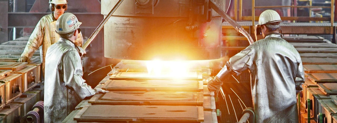 Steel Foundry Vesuvius