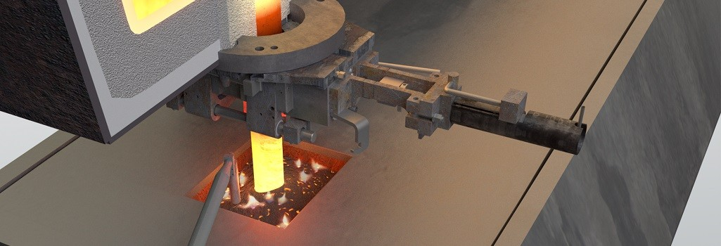 Tundish Mold Continuous Casting : Tundish to mould solutions for bloom or billet casters